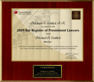 Broward Defense Attorney - Bar Register of Preeminent Lawyers