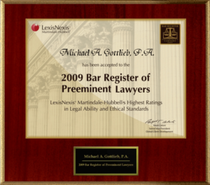 Criminal Lawyer in Broward County- LexisNexis Preeminent Lawyer rating