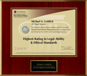 DUI Defense Attorney - AV Rated Attorney in Legal Ability