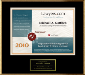 Broward Defense Lawyer - AV award