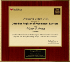 Broward Criminal Law Firm - LexisNexis Law Firm award