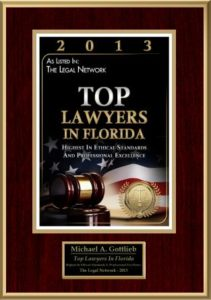 Best criminal lawyer in Broward County - Top Lawyers in Florida award