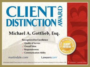 Top Criminal Lawyer in Broward - Client Distinction Award
