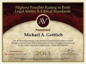 Broward Attorney specialized in criminal law - AV Preeminent rating 2013