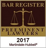 Top Criminal Attorney in Broward - 2017 Martindale-Hubbell award
