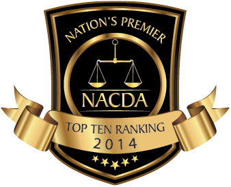 Criminal Defense Attorney in Broward County- 2014 NACDA ranking