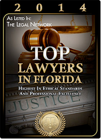 Broward Criminal Defense Attorney - 2014 Top Lawyer in Florida award