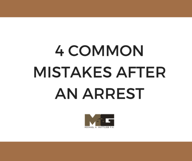 common mistakes to avoid after an arres