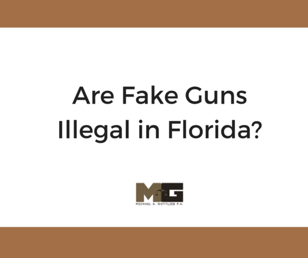 are fake guns illegal