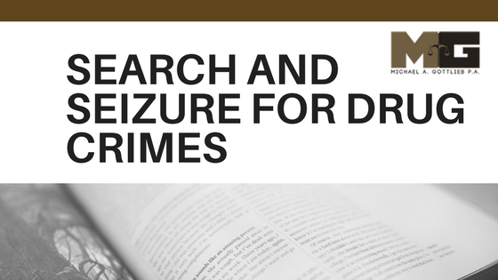Search and Seizure Drug Crims
