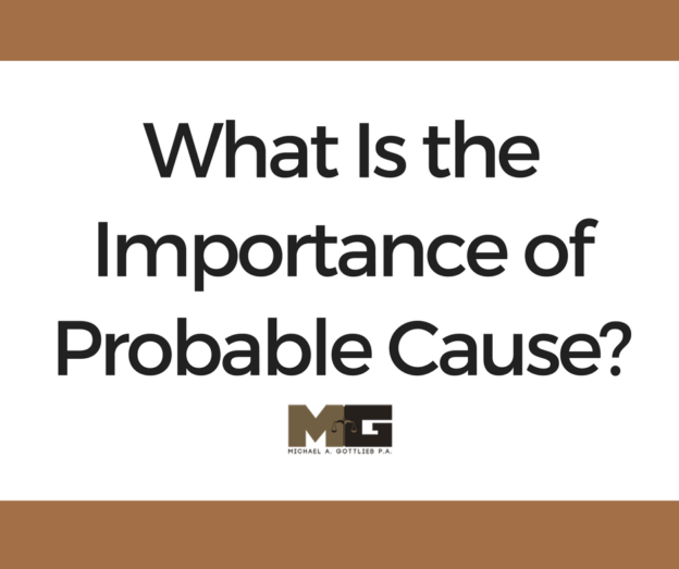 what is the importance of probable cause