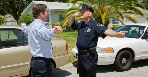 What is the Standard Field Sobriety Test